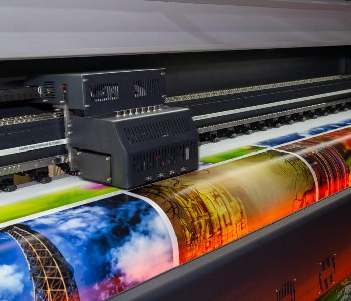 Beswick Industries Served Large Format Inkjet Printers